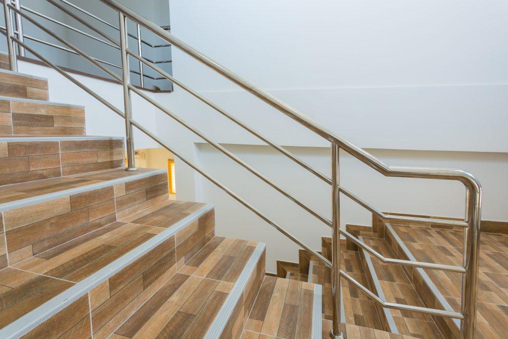 metal balustrade for stairs